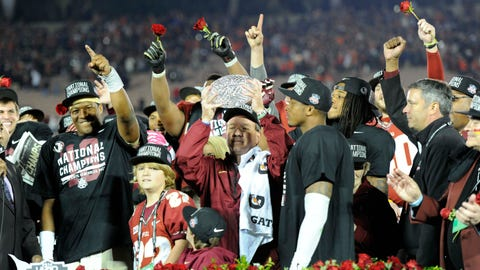 4. FSU wins national championship/runs win streak to 29 games