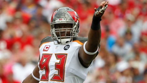 Two words: Gerald. McCoy.