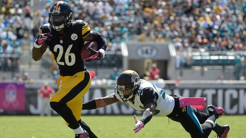 October 8: Jacksonville Jaguars at Pittsburgh Steelers, 1 p.m. ET