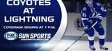 LIVE: Lightning vs. Coyotes GameTrax