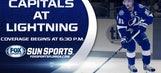 Washington Capitals at Tampa Bay Lightning game preview
