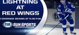 Lightning at Red Wings LIVE GameTrax
