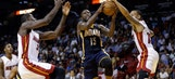 Heat outrebounded in big way, fall at home to Pacers
