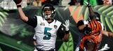 Blake Bortles active for Jaguars despite wrist problem