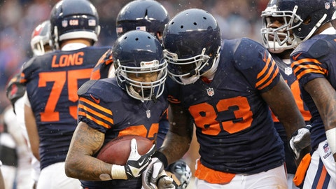 20. Chicago Bears