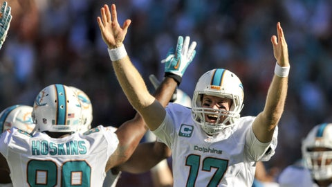 DOLPHINS (-3.5) over Jets (Over/under: 44)