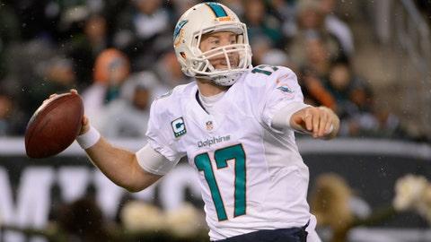 14. Miami Dolphins -- Ryan Tannehill