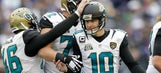 Winning pays: Jaguars' Scobee scores free slice of pizza