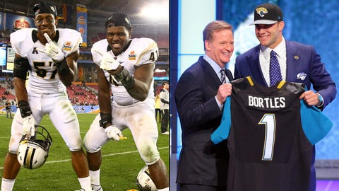 11. UCF wins Fiesta Bowl/Jags draft Blake Bortles with No. 3 pick