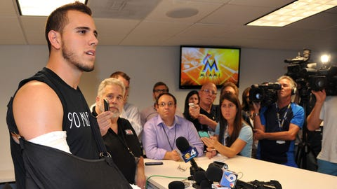 9. Marlins' Jose Fernandez undergoes Tommy John surgery
