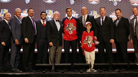 19. Panthers win draft lottery, select Aaron Ekblad
