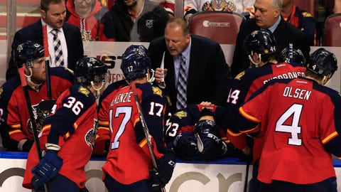 15. Panthers hire Gerard Gallant as coach