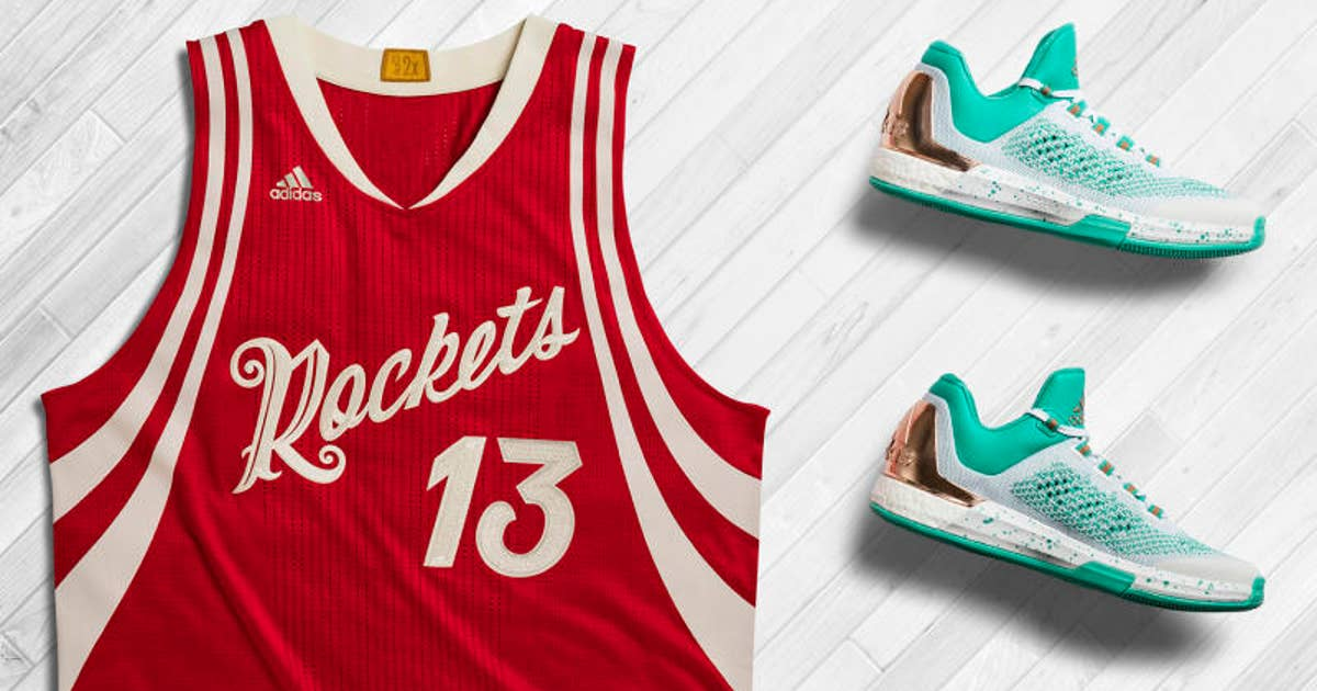 competitive price a1173 56ad1 Adidas unveils Christmas sneakers for James Harden, Derrick Rose (PHOTOS)   FOX Sports