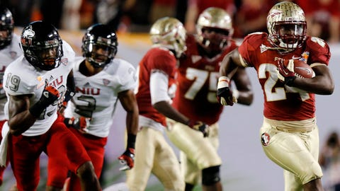 2. Florida State 31, Northern Illinois 10 (Orange Bowl) -- Jan. 1, 2013