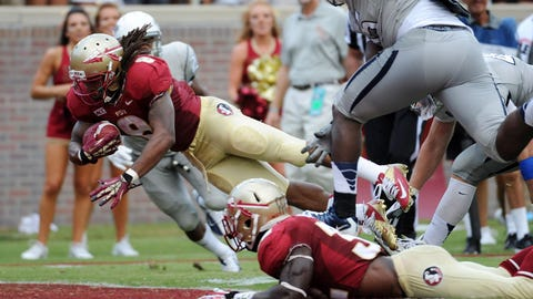 4. Florida State 62, Nevada 7 -- Sept. 14, 2013