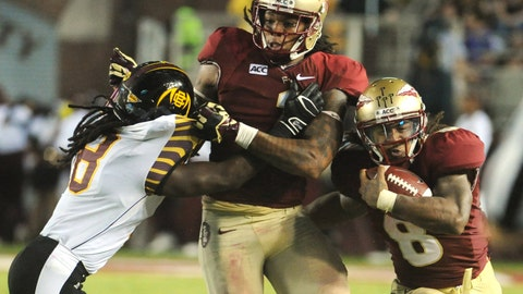 5. Florida State 54, Bethune-Cookman 6 -- Sept. 21, 2013