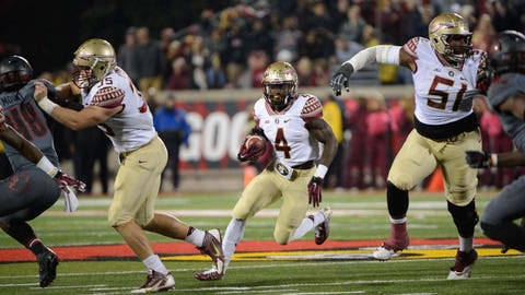24. Florida State 42, Louisville 31 -- Oct. 30, 2014