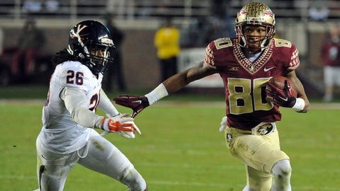 25. Florida State 34, Virginia 20 -- Nov. 8, 2014