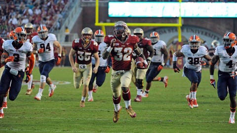 12. Florida State 59, Syracuse 3 -- Nov. 16, 2013