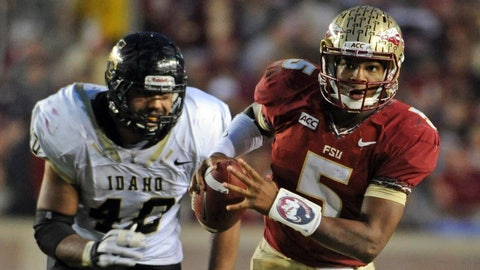 13. Florida State 80, Idaho 14 -- Nov. 23, 2013
