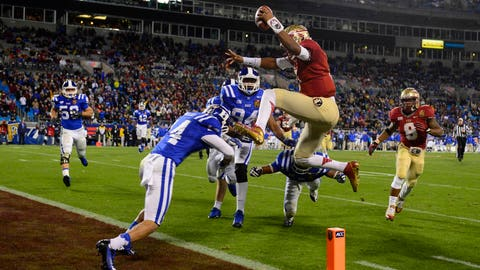 15. Florida State 45, Duke 7 (ACC Championship game) -- Dec. 7, 2013