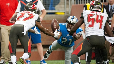 December 10: Detroit Lions at Tampa Bay Buccaneers, 1 p.m. ET