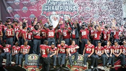 FSU title celebration
