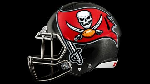 2014 Tampa Bay Buccaneers helmet