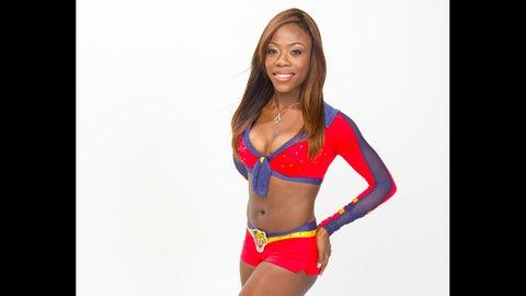Redline Lady Panthers dancer