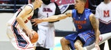 Gators blanket Henderson in second half, survive road scare