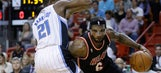 LeBron James clears way as Heat top Magic