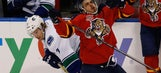 Jimmy Hayes scores twice, but Panthers fall to Canucks in shootout