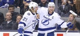 Steven Stamkos nets hat trick to lead Lightning past Maple Leafs