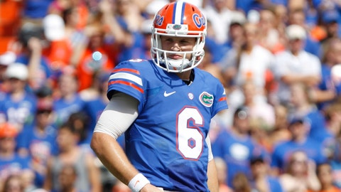 1. QB Jeff Driskel, redshirt Jr.