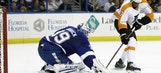 Anders Lindback builds trust with stellar outing against Flyers