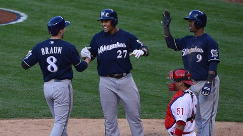 NL - Hot Team - Milwaukee Brewers