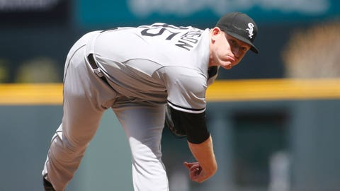 AL - Cold Pitcher - Erik Johnson (Chicago White Sox)