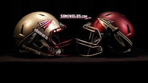 FSU helmets
