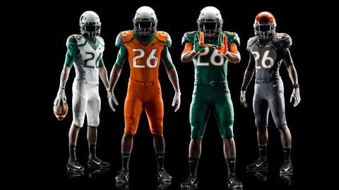 Miami Hurricanes jerseys