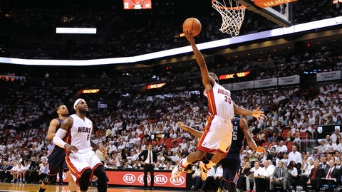 Heat vs. Bobcats Game 2