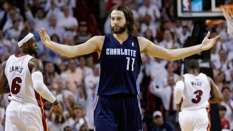 Josh McRoberts, PF, Charlotte Bobcats