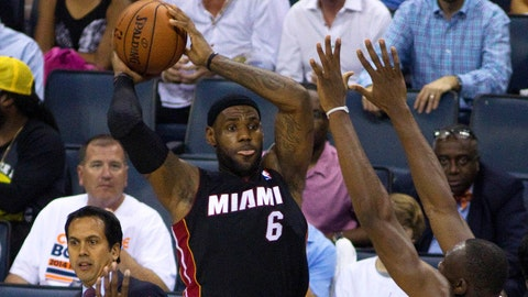 Heat vs. Bobcats Game 4