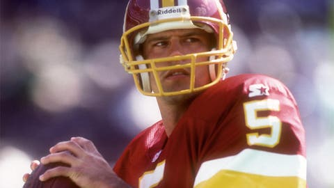 Redskins: QB Heath Shuler (No. 3, 1994)