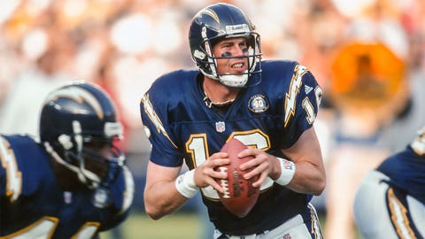 Ryan Leaf (second pick, 1998, San Diego Chargers)