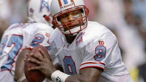 Steve McNair (third pick, 1995, Houston Oilers)