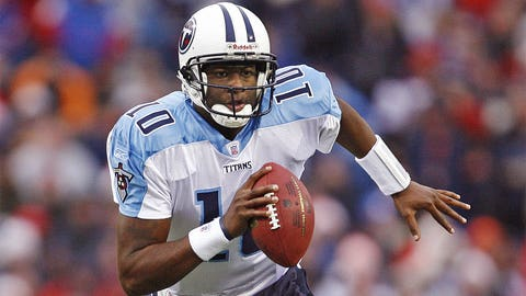 Vince Young (third pick, 2006, Tennessee Titans)