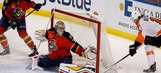 VIDEO: Panthers G Dan Ellis makes slick save on Sean Couturier