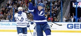 Ondrej Palat scores twice to lead Lightning past Maple Leafs