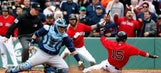 David DeJesus has two RBIs as Rays edge Red Sox