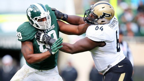 Hendricks (best DE): Shilique Calhoun, Michigan State